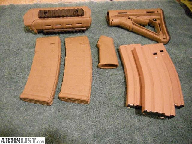 Armslist For Sale Trade Magpul Fde Complete Furniture Kit