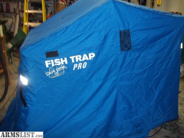 Armslist for sale clam fish trap ice shanty for Clam fish trap