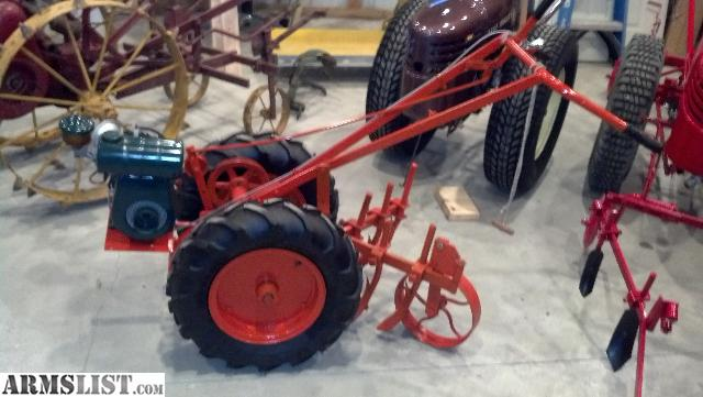 I Have Several Antique Two Wheel Garden Tractors That I Want To Trade For  Firearms Of Equal Value. Let Me Know What You Have.