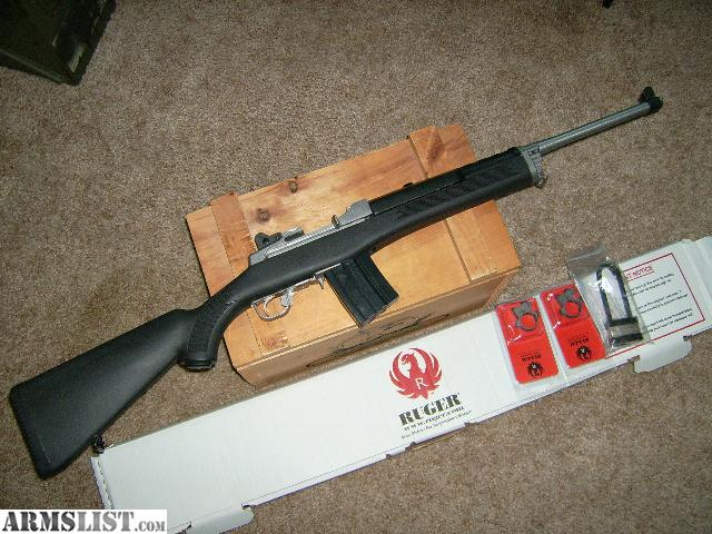 Armslist For Sale Trade Ruger Mini 14 Ranch 582 Series