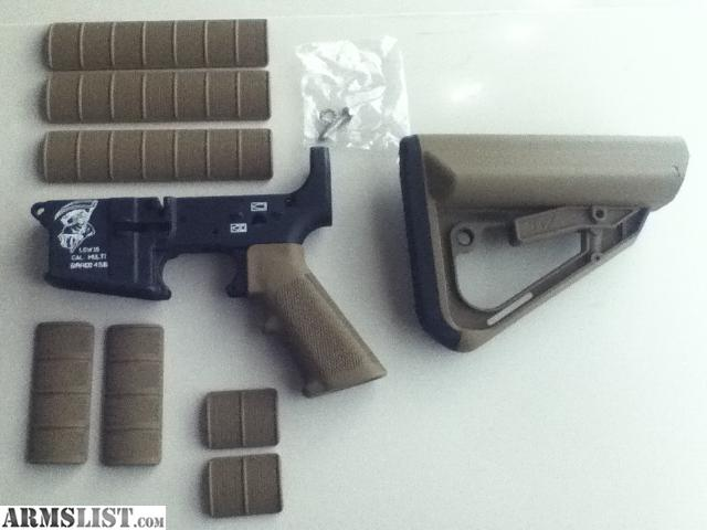 Brand New Surplus Arms Stripped Lower Receiver And New Ti 7 Earth Tone Furniture  Kit. For More Info. Call REDACTED