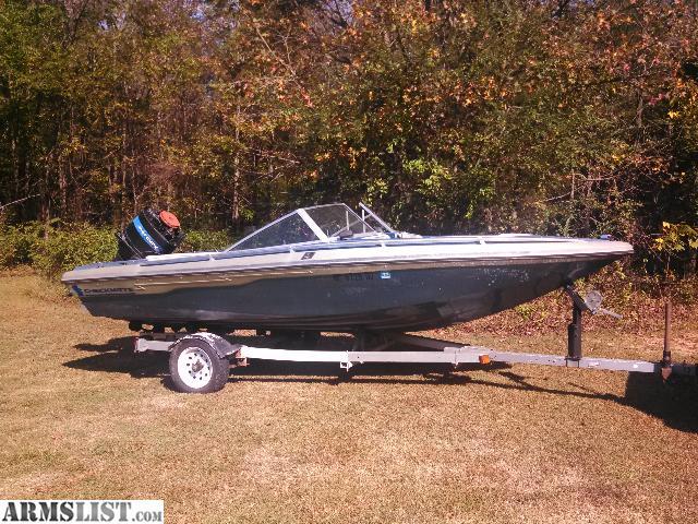 Charlotte North Carolina Vehicles For Sale 1980 Checkmate Diplomat 16 Open Bow Ski Boat 115 Mercury Tilt Trim W Nice Trailer