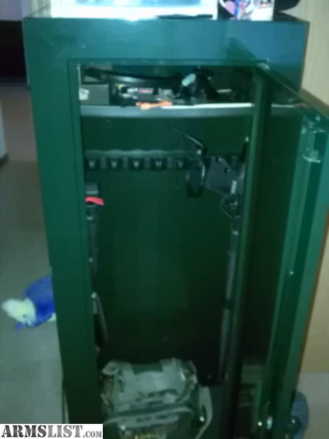 ARMSLIST - For Sale: stack on 14 gun cabinet and .22 lr ammo