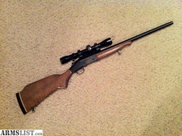 simmons 3x9 scope. i have an h\u0026r handi rifle, .243 and a simmons 3x9 scope. please call or text redacted. thank you scope