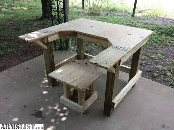 Armslist For Sale Heavy Duty Pressure Treated Shooting Bench