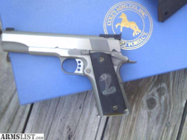 gold fired armslist for sale colt gold cup trophy 45 ss never fired in