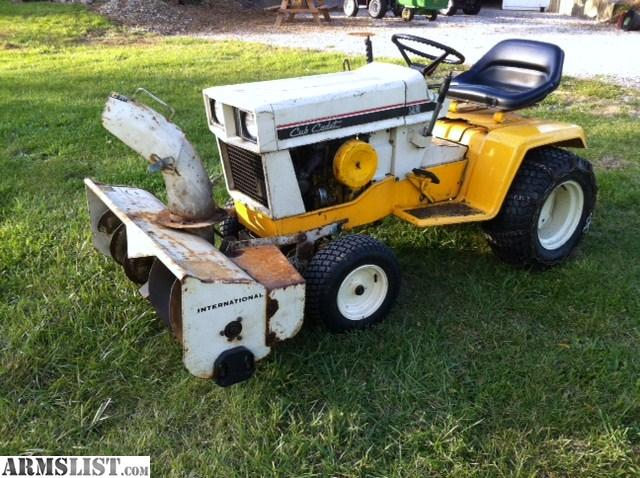 Armslist For Sale Trade Cub Cadet 129 Tractor With Snow
