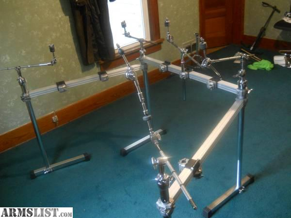 ARMSLIST - For Sale/Trade: Pearl Icon 3 Sided Drum Rack ...