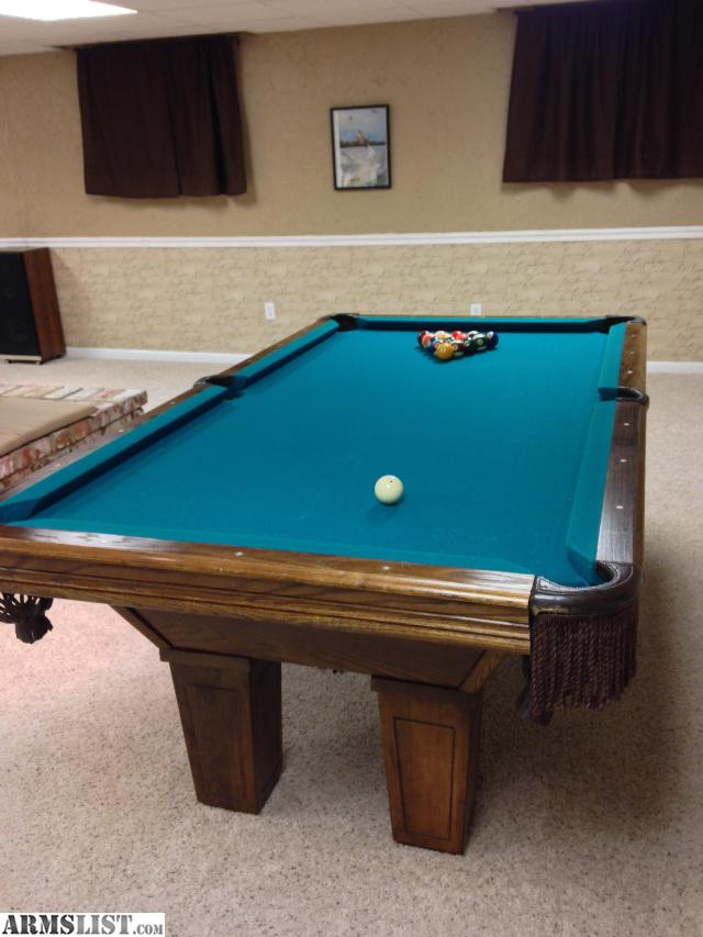 armslist - for sale: leisure bay pool table