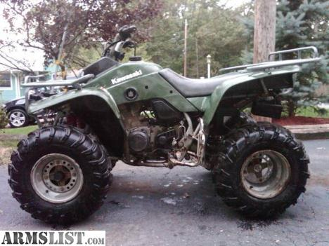 armslist - for sale: 1999 kawasaki lakota 300 atv