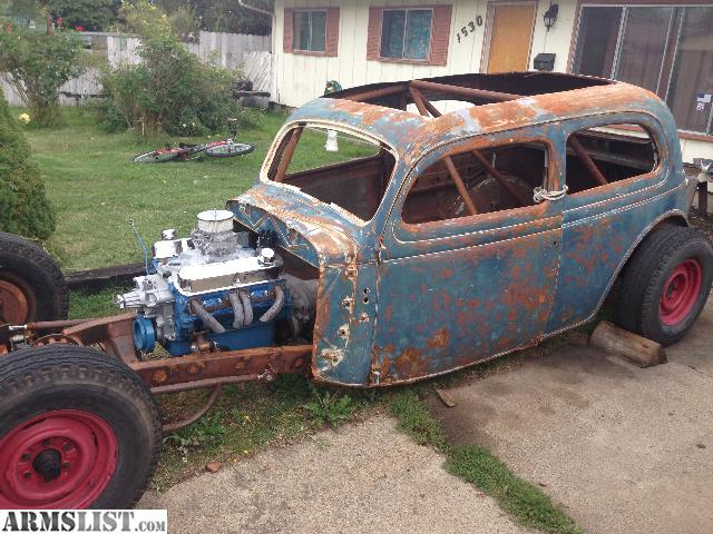 Armslist For Sale Trade 1935 Ford Tudor Rat Rod Project