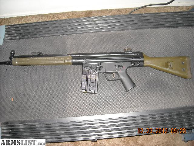 Cetme G3 For Sale: For Sale: Hk G3