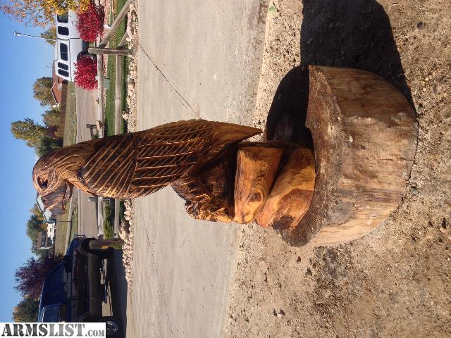 Armslist for sale eagle chainsaw carving