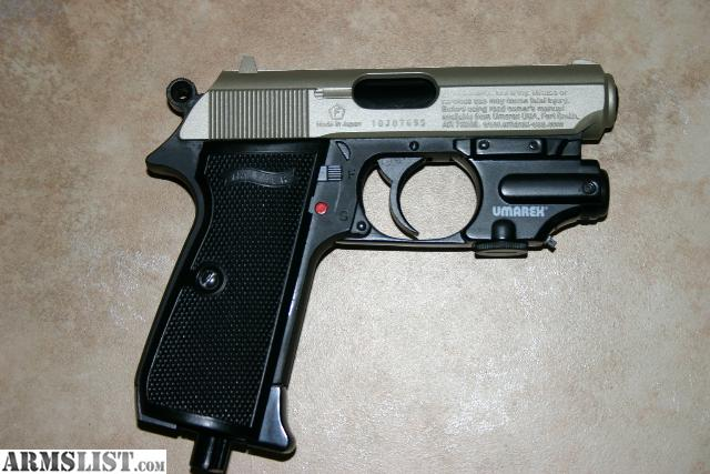 armslist for sale umarex walther ppk s used 1 co2 cart 177 cal rh armslist com Walther PPK Parts List Walther PPK 7.65Mm