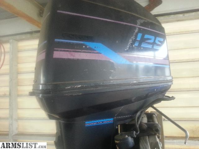 armslist for sale trade 1989 125hp force outboard boat