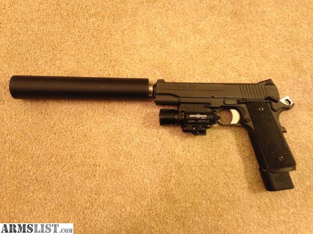 ARMSLIST - For Sale: Sig Tac-Op 1911 w/threaded barrel M1911 Suppressed Tactical