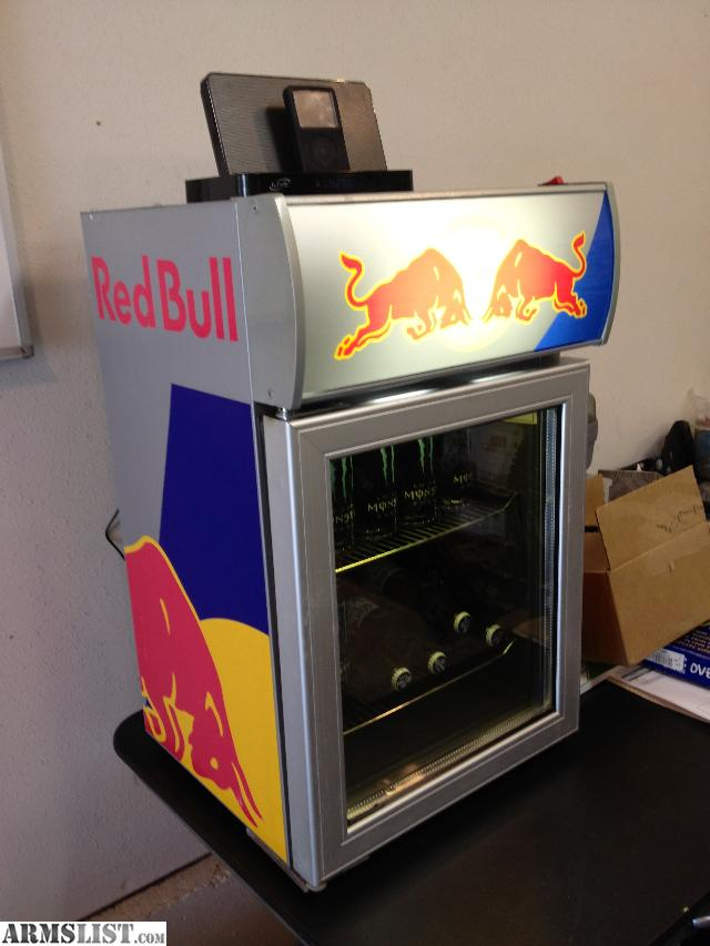 for sale red bull garage fridge perfect for man cave