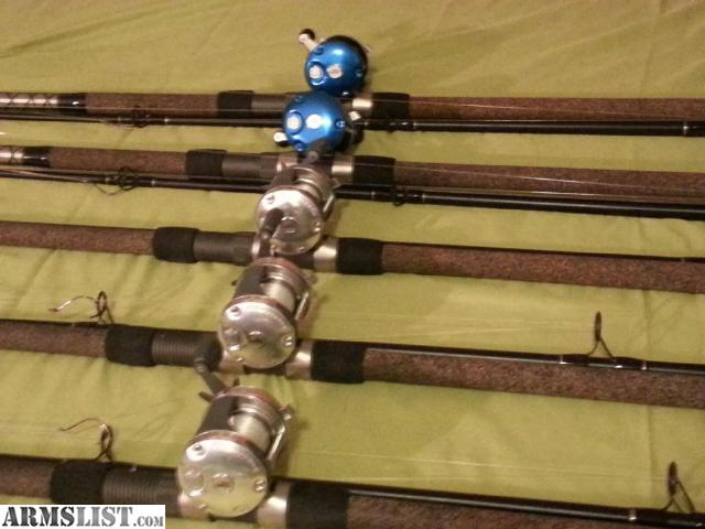 Armslist for sale trade paylake fishing rods and reels for Fishing rods and reels for sale