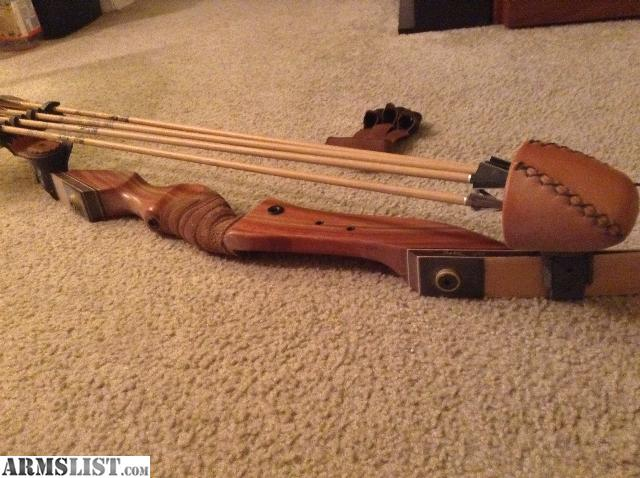 Armslist For Sale Pse Mustang 50 Pound Recurve Bow And