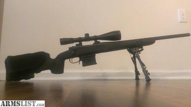 ARMSLIST - For Trade: Remington 700 VTR Build