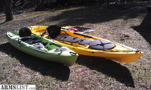 armslist for sale trade 2 sit on top fishing kayaks for