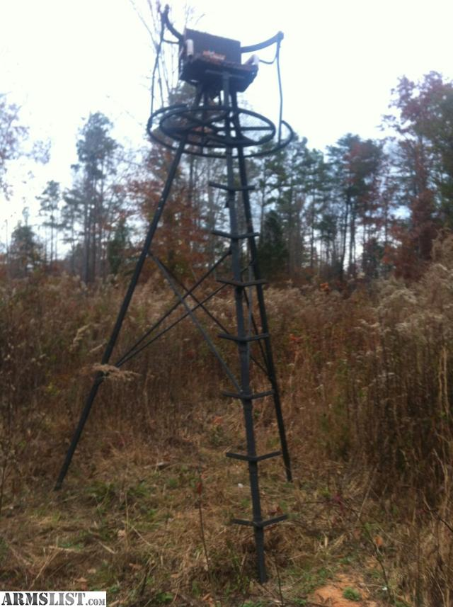 Trade Stands For Sale : Armslist for sale trade ladder stand tripod and
