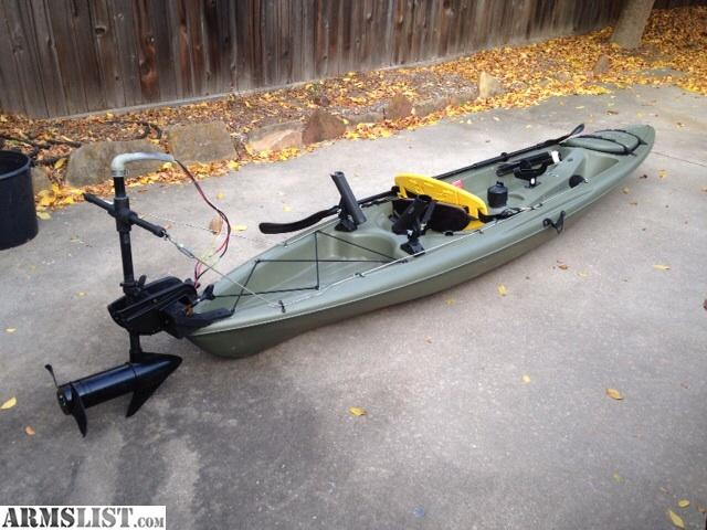 Armslist For Sale Fishing Kayak With Trolling Motor