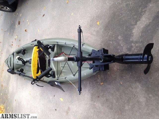 Armslist for sale fishing kayak with trolling motor for Fishing kayak with trolling motor