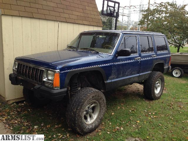 armslist for sale trade 1988 jeep cherokee lifted. Black Bedroom Furniture Sets. Home Design Ideas