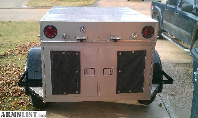 armslist for sale 4 hole dog box trailer 1100. Black Bedroom Furniture Sets. Home Design Ideas