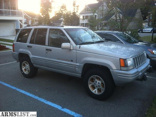 armslist for sale trade 1997 jeep grand cherokee 4x4 orvis addition. Black Bedroom Furniture Sets. Home Design Ideas