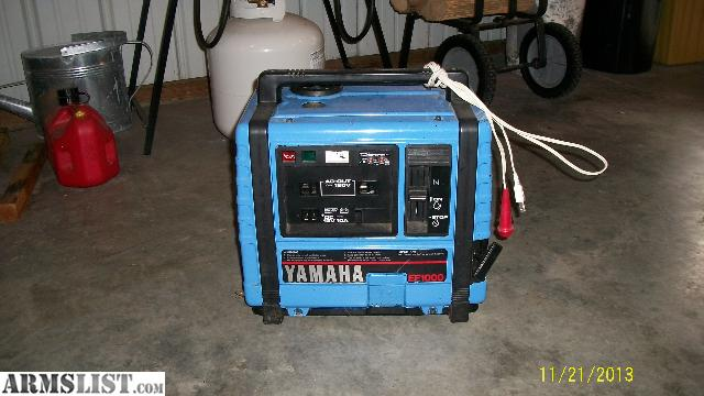 Armslist for sale yamaha ef1000 generator for Yamaha generator for sale
