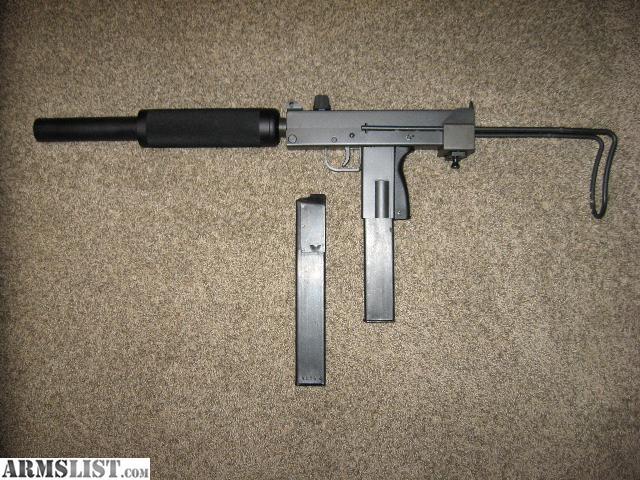 ARMSLIST - For Sale: 9mm Mac-10 Carbine Rifle