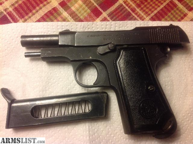 ARMSLIST - For Sale: Beretta 7.65 Brevettata Gardone V.T. 1944