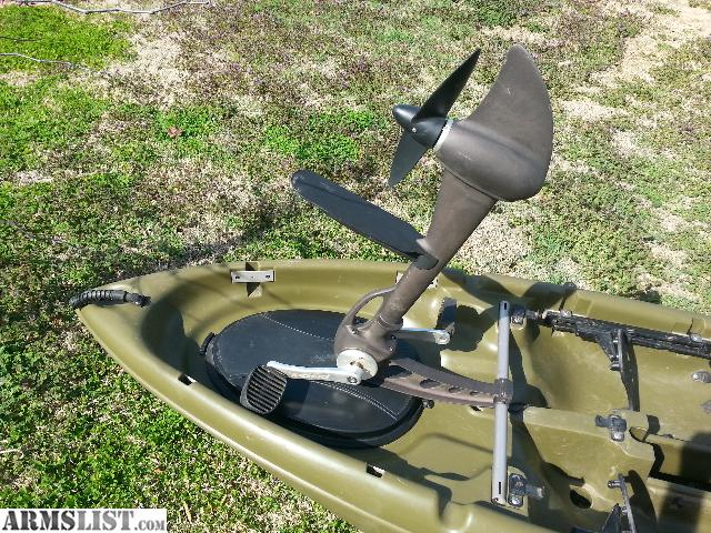 Armslist for sale trade sold pending funds for Fishing kayak with foot pedals