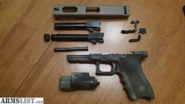 ARMSLIST - For Sale: Glock 21SF .45acp custom w/extras and ...