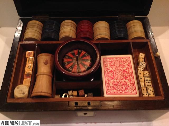 Gambling set antique colorado casino mardi gras