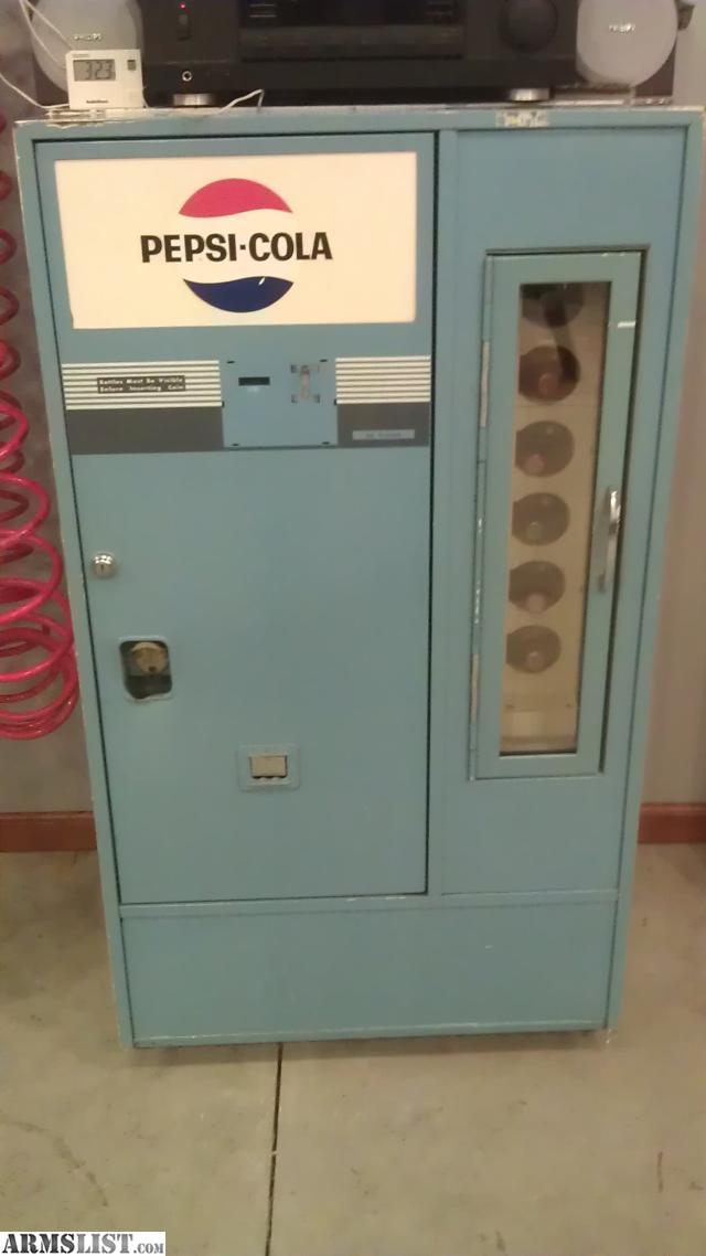 pepsi bottle machine for sale
