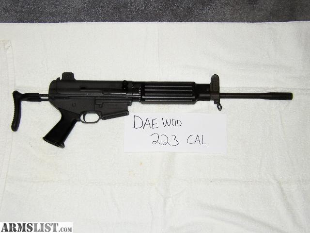 ARMSLIST - For Sale: Daewoo K1 pre ban 223 cal.