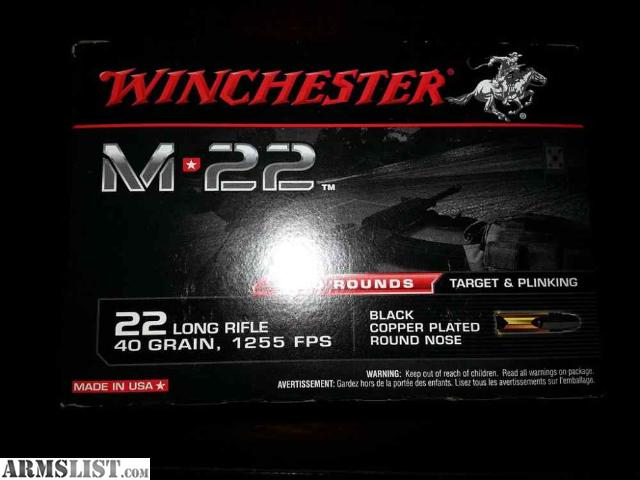 Armslist For Sale Trade 22lr 1400 Rounds Bucket M22