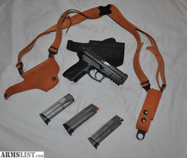 For Sale/Trade: Sig Sauer 9mm With 4 Mags And