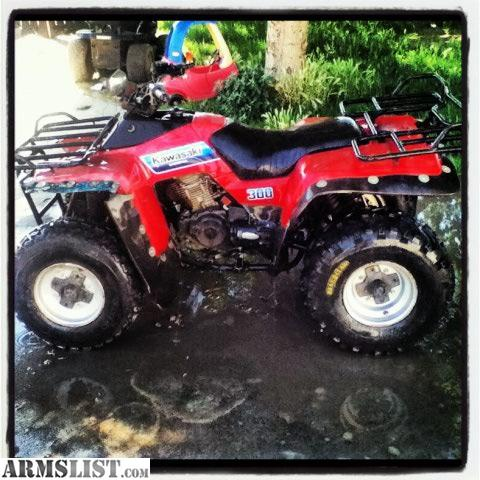 armslist for sale trade trade my 87 kawasaki bayou 300 atv for your firearms. Black Bedroom Furniture Sets. Home Design Ideas