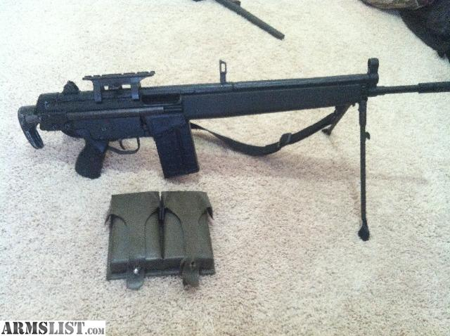 Cetme G3 For Sale: For Sale: Cetme 308 W/ HK Collapsible Stock & Bipod