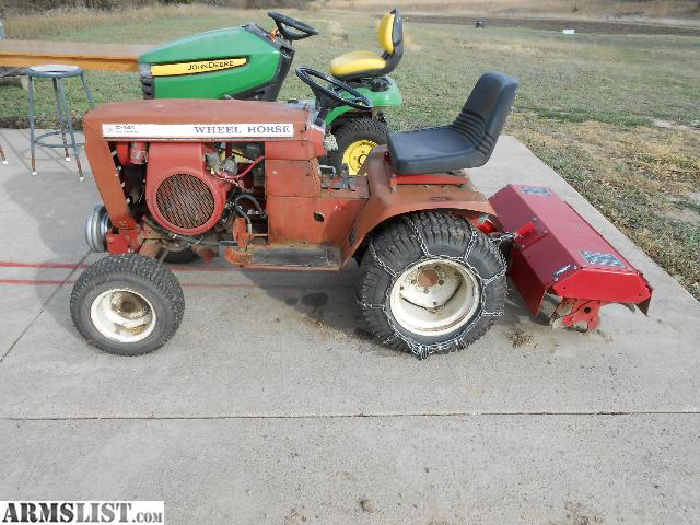 Armslist For Sale Trade Wheel Horse Garden Tractor W Attachments