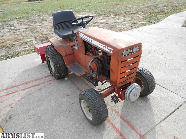 Armslist For Sale Trade Wheel Horse Garden Tractor W Attachments