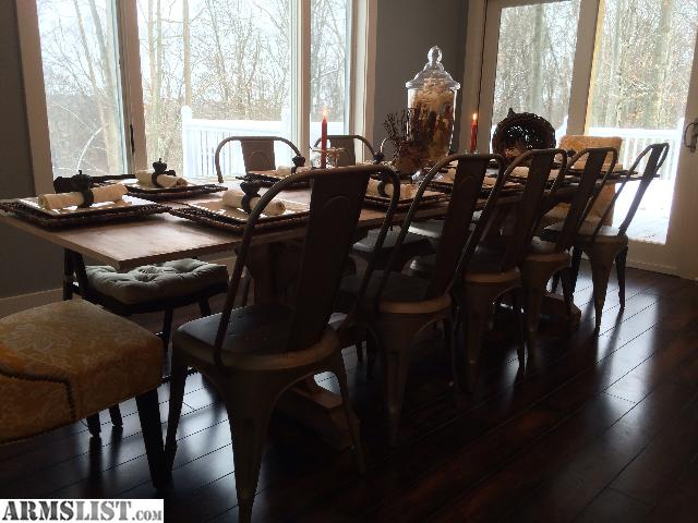 armslist for sale trade custom made 12 person dining table
