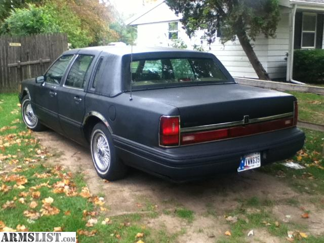 Armslist For Sale Trade 1994 Lincoln Town Car