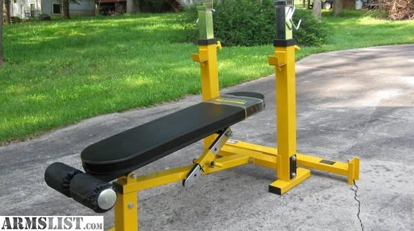 Armslist For Sale Weight Bench