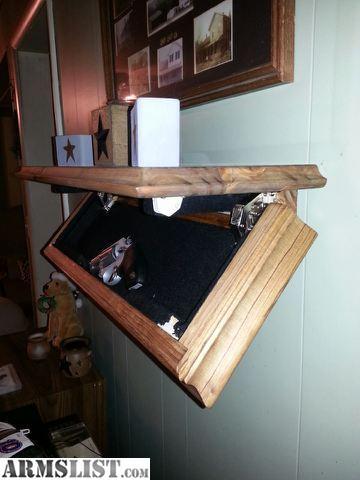 ARMSLIST For Sale Concealed shelf Furniture