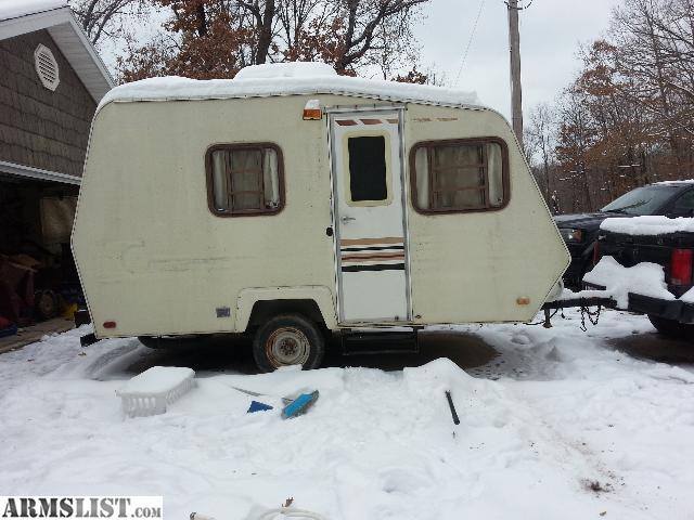 armslist for sale trade 2 man bumper pull camper. Black Bedroom Furniture Sets. Home Design Ideas